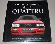 Bildband Audi Urquattro Treser Sport Quattro Typ 85 Rallye Coupe Stand 2008!