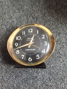 Vintage Westclox Wind Up Big Ben Repeater Alarm Clock Scotland
