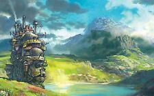 A3 Studio Ghibli Howl's Moving Castle Poster ART Print SGH01 BUY 2 GET 3RD FREE