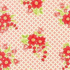 BOLT END 98cm Bonnie and Camille Handmade Coral Gwendolyn Quilting Cotton Moda