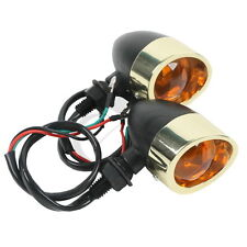 New Metal Bullet Turn Signal Light for Harley Road King Softail Street Glide