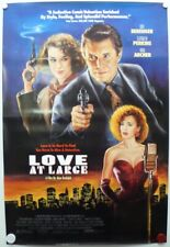 LOVE AT LARGE 1990 Tom Berenger, Elizabeth Perkins, Ted Levine-One Sheet