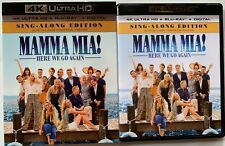 MAMMA MIA HERE WE GO AGAIN 4K ULTRA HD BLU RAY 2 DISC SET + SLIPCOVER SLEEVE