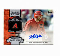 2013 Topps Chasing History Series 1 Adam Eaton Autograph Rookie Card! AUTO RC!
