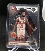 2019-20 Panini Prizm Mosaic Coby White Rookie Card RC NBA Debut Chicago Bulls 🔥