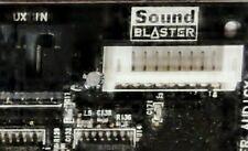 Tarjeta de sonido SoundBlaster Model: sb 0570 top-estado - 1 año de garantía