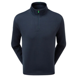FootJoy Mens Chillout Xtreme Fleece Pullover Golf Sweater - Athletic Fit