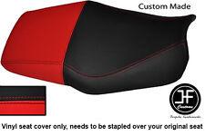 Rojo Y Negro Automotriz Vinilo Personalizado Se Ajusta Honda CBR 600 F Dual 91-96 Funda De Asiento