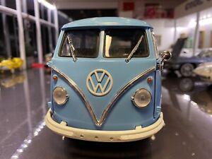 1/18 Greenlight 1962 VW Volkswagen Microbus 1p Start No Reserve Boxed.