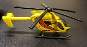 Matchbox Airblade 2009 Yellow Rescue SB8609 Skybusters Helicopter Mattel