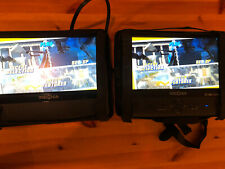 insignia dual Screen Home/auto dvd player For Head Rest