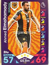 Match Attax 2016/17 Premier League - #118 Ahmed Elmohamady - Hull City