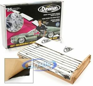 Dynamat 10455 Xtreme Sound Damping Bulk Pack for an Entire Car 36 ft. 9 Sheets