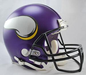 MINNESOTA VIKINGS NFL Riddell Pro Line AUTHENTIC VSR-4 Football Helmet
