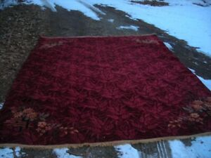 STUNNING ANTIQUE 1930'S AMERICAN MADE CHINESE ART DECO STYLE RUG 9X12