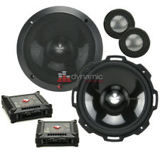 "Rockford Fosgate T2652-S 6.5"" Power Series Aluminum Component Car Speaker System"