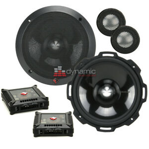 "Rockford Fosgate T2652-S 6.5"" Power Series Aluminum Component Car Speaker System"