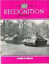 RECOGNITION JOURNAL JULY 51: GRUMMAN PANTHER/ MARTIN MAULER/TANKS/FLEET SPOTTING