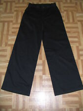 TravelSmith Navy Blue Chino Wide Leg Stretch Twill Casual Pants 4 MSRP $79