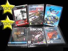LOTTO STOCK 6 GIOCHI DI CORSE MOTOGP SBK NEED FOR SPEED MR3 PC NUOVI ITA STOCK87