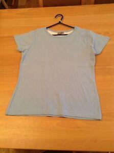 boys clothes 11-12 years TU Light Blue Cotton Short Sleeved Top T-shirt