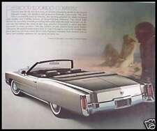 1971 Cadillac Prestige Brochure HUGE Eldorado Fleetwood 60 75, Original GM 71