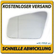 spiegelglas für MERCEDES C-Klasse W204 Facelift 2009-2012 links asphärisch