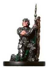 D&D Miniatures Tambores De Guerra-Shieldwall Soldado