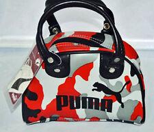 Puma Archive Original Grip Red Camouflage Bag