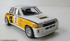 RENAULT 5 TURBO RACING CAR 1984 scala 1:43 Neuw OVP