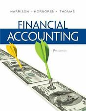 Financial Accounting by Walter  Harrison Charles Horngren Thomas 9TH EDITION