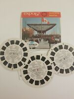 EXPO 67 General Tour Montreal Canada Vintage ViewMaster Reel Pack Free shipping