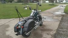 33'' TALL BACKREST SISSY BAR RACK HARLEY TOURING ROAD KING STREET ELECTRA GLIDE