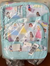 Pottery Barn Kids Disney Princess SMALL Spinner Luggage ~ Aqua
