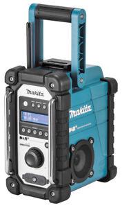 Makita Akku-Baustellenradio DMR 110  mit DAB+ Radio Digital und FM