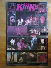 1980 The KINKS Misfits Sleepwalker Low Budget One For The Road Concert Poster