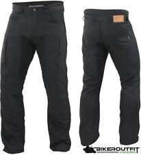 Trilobite Jeans Motorradhose CONSAPHO schwarz Gr. 34/32 Inch+Protektoren