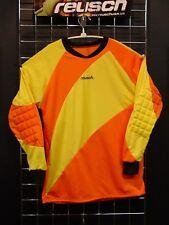 Reusch Soccer Goalie Padded Elbows Long Sleeve Jersey Adult Large #SLIDE ORANGE