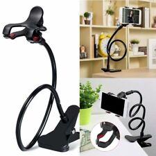Universal 360° Bedside Phone Holder Lazy Bracket Stand Mount Mobile Clop Holder