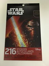 Star Wars Sticker Book 200+ Stickers 4 Pages Disney Licensed Product NEW