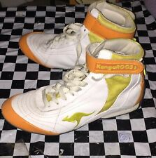 Vintage Rare 36Ninja Kangaroo Shoes Size 7 Athletic Orange Timeline Shift 33