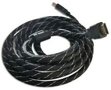 Arcas câble HDMI OR nylon tressé haute vitesse HD 1080p 1,5m 3m 5m 10m NORME CE