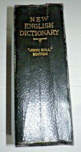 1932 NEW ENGLISH DICTIONARY(JOHN BULL EDITION) Hardback Book