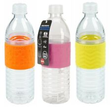 Copco Hydra Water Bottle BPA Free Plastic 16.9 Oz Pack Of 3 - Orange Pink Yellow