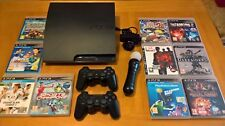 ++ Sony PS3 Slim 160GB 2 Joystick Sony - Eye Camera - Move - 10 Giochi - NEW ++