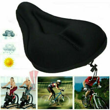 Comfort Bicycle Saddle Pad Owill 3D Honeycomb Waterproof Soft Bike Seat Cover Black Washable Bike Seats Cushion