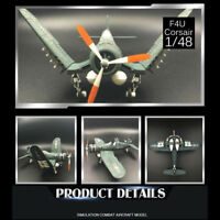 1/48 scale WWII F4U Corsair U.S. NAVY Assemble Fighter Model Random Color