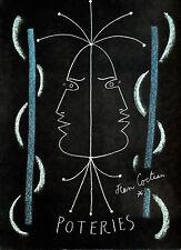 Jean COCTEAU POTERIES Catalogue Raisonné Céramiques par Annie GUEDRAS Ceramic