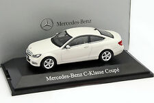 Mercedes-Benz C-Klasse Coupe diamant weiß 1:43 Norev