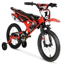 Motocross Motorbike Motorcycle Bicycle Bike Training Wheels Red Racing Kid Child